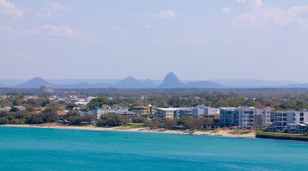 Glasshouse Mountains National Park featuring general coastal views and landscape views
