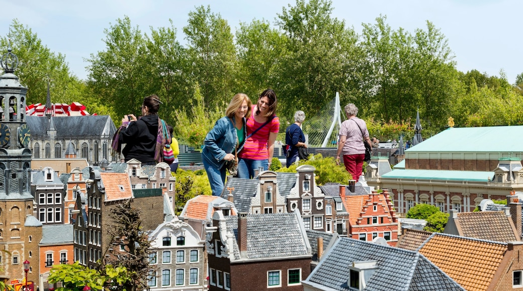 Madurodam as well as a small group of people