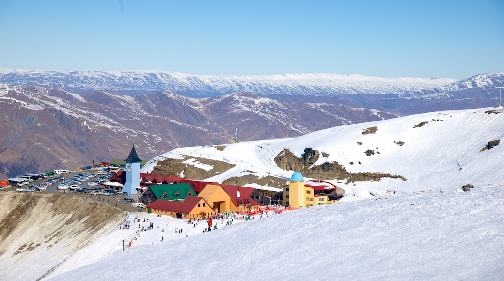 Cardrona Alpine Resort featuring snow and landscape views
