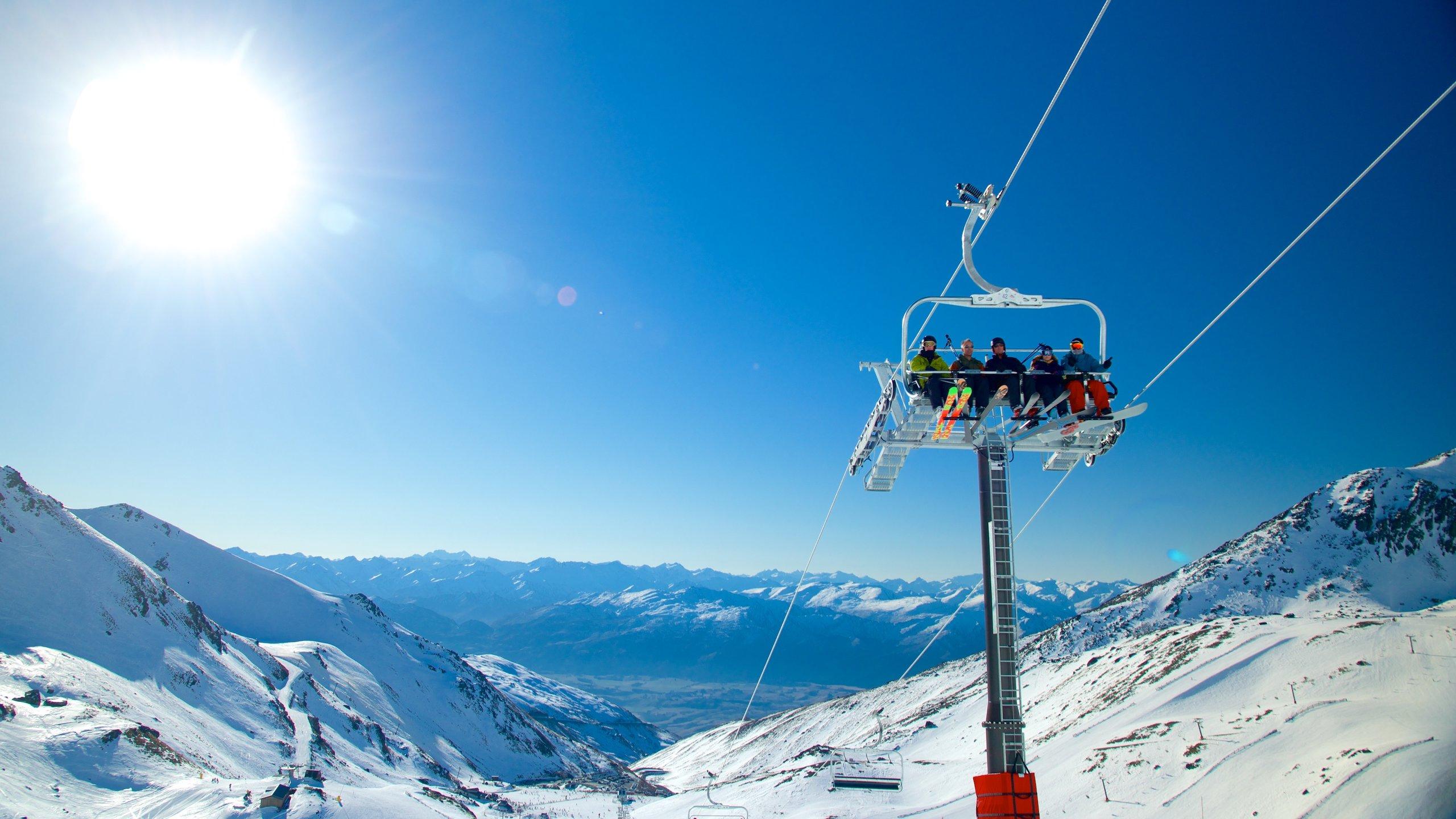The Remarkables Ski Area, Kawarau Falls, Otago, New Zealand
