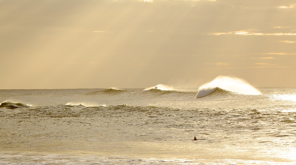 East London showing surf