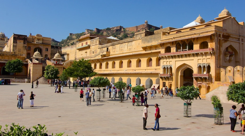 Amber Fort showing heritage architecture and heritage elements