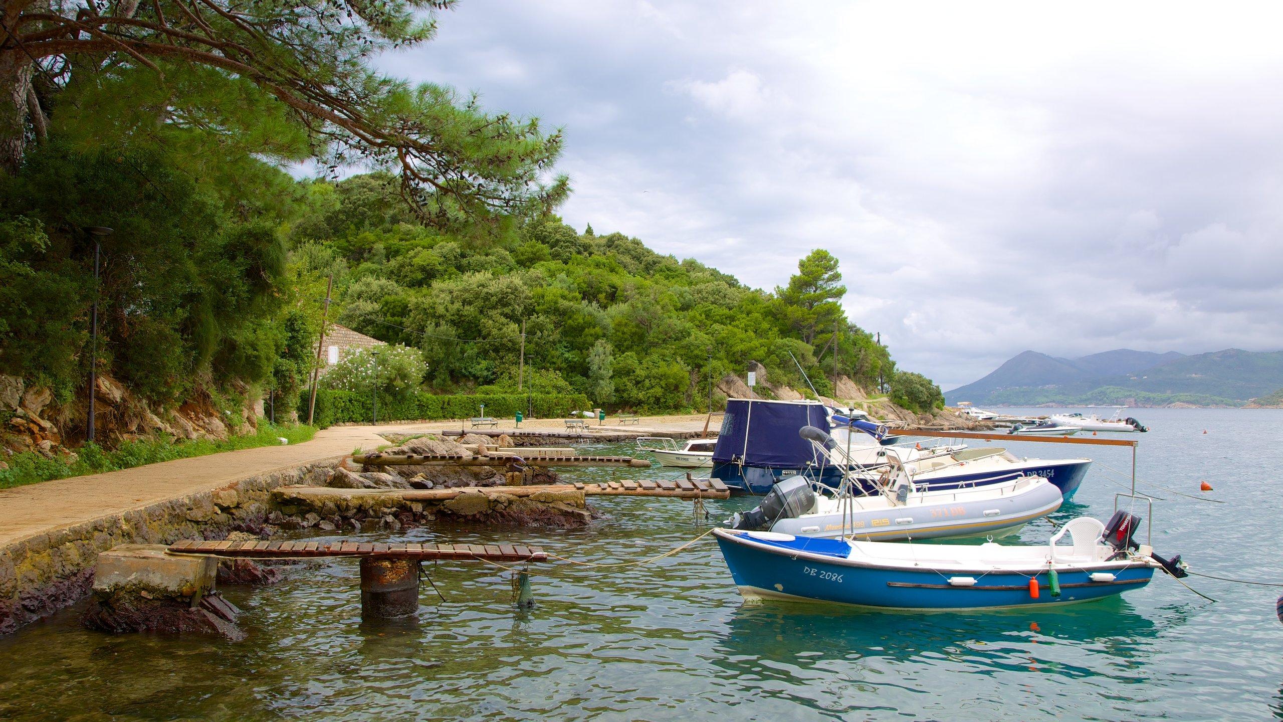 Lapad Beach, Dubrovnik, Dubrovnik-Neretva, Croatia