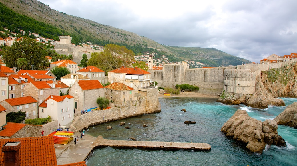 Dubrovnik - Southern Dalmatia which includes a coastal town and a bay or harbour