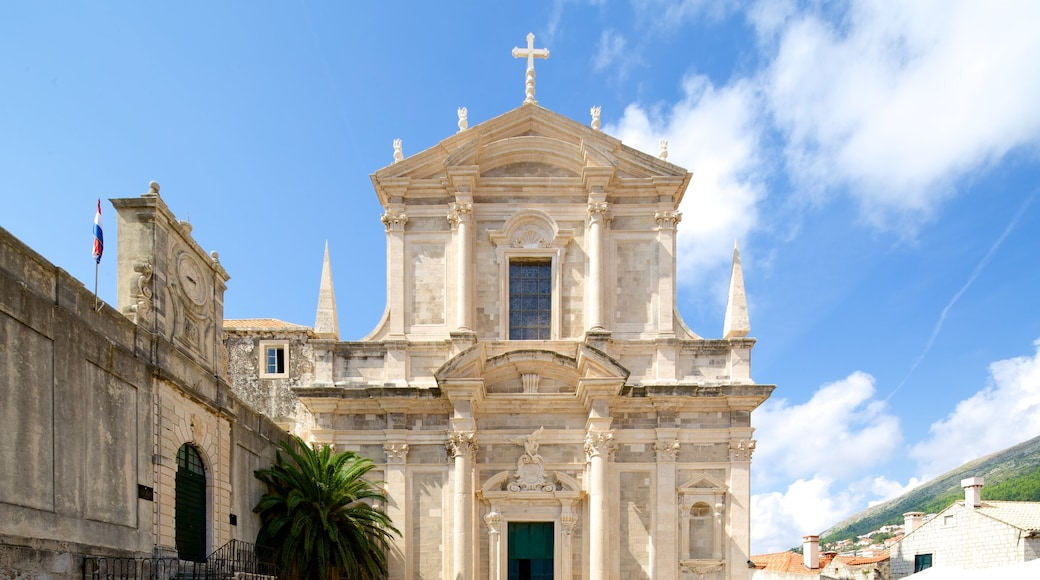 Church of St. Ignatius showing a church or cathedral and heritage architecture