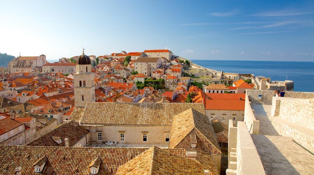Croatia featuring general coastal views and a coastal town