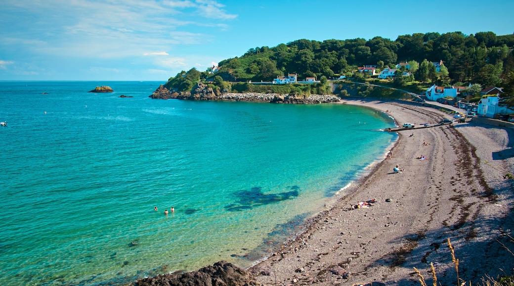 St. Martin\'s mit einem Strand