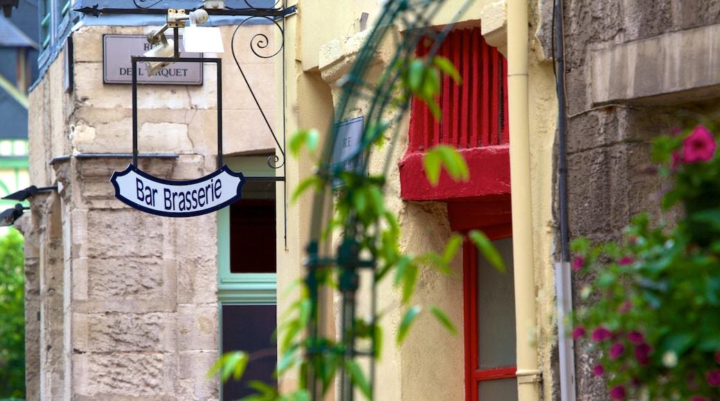 Rouen featuring signage