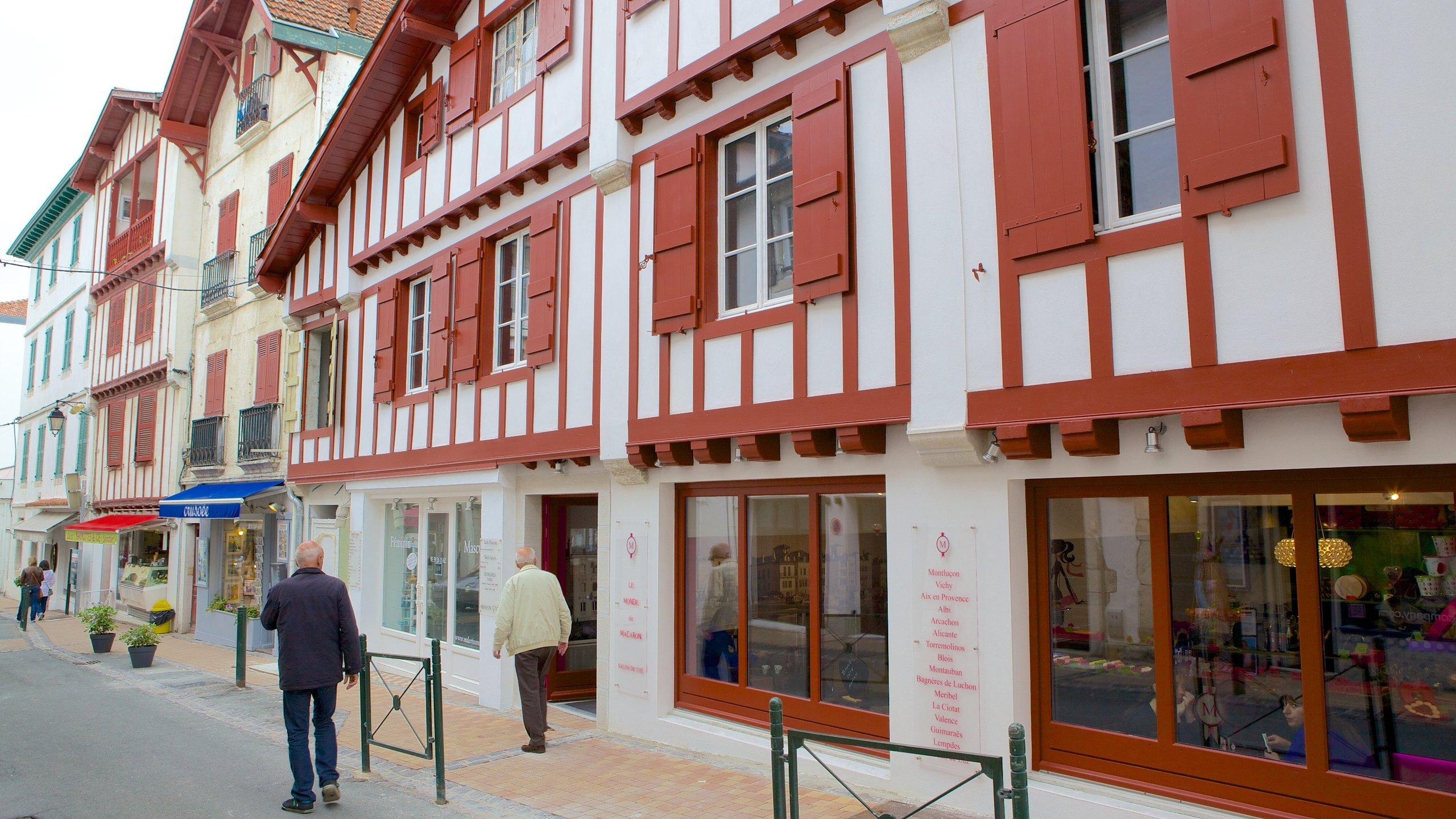 Saint-Jean-de-Luz City Center, Saint-Jean-de-Luz, Pyrenees-Atlantiques, France