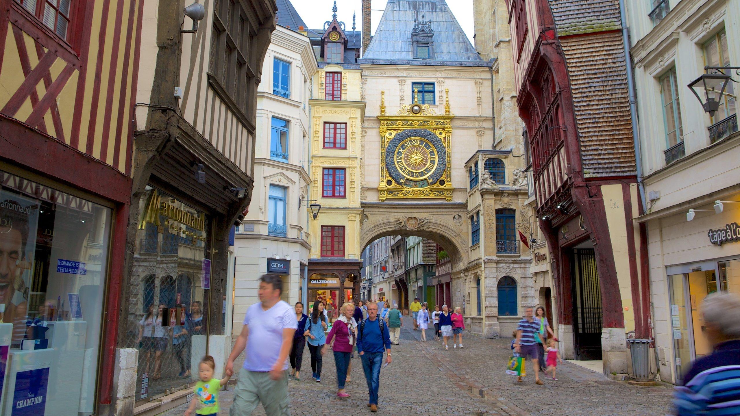 Quartier Vieux Marché-Cathédrale, Rouen, Seine-Maritime Département, Frankreich