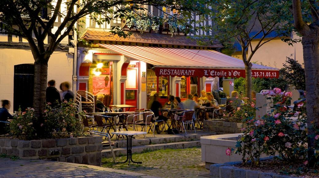 Rouen qui includes dîner en ville et sortie au restaurant