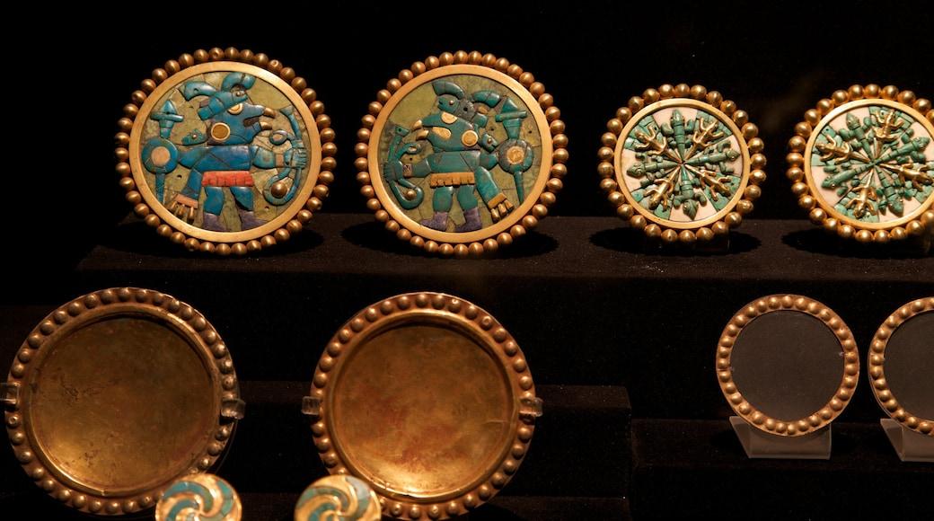 Museu do Larco que inclui elementos de patrimônio
