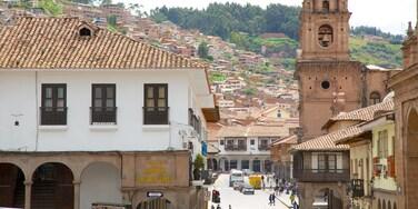 Iglesia de la Merced caracterizando uma cidade