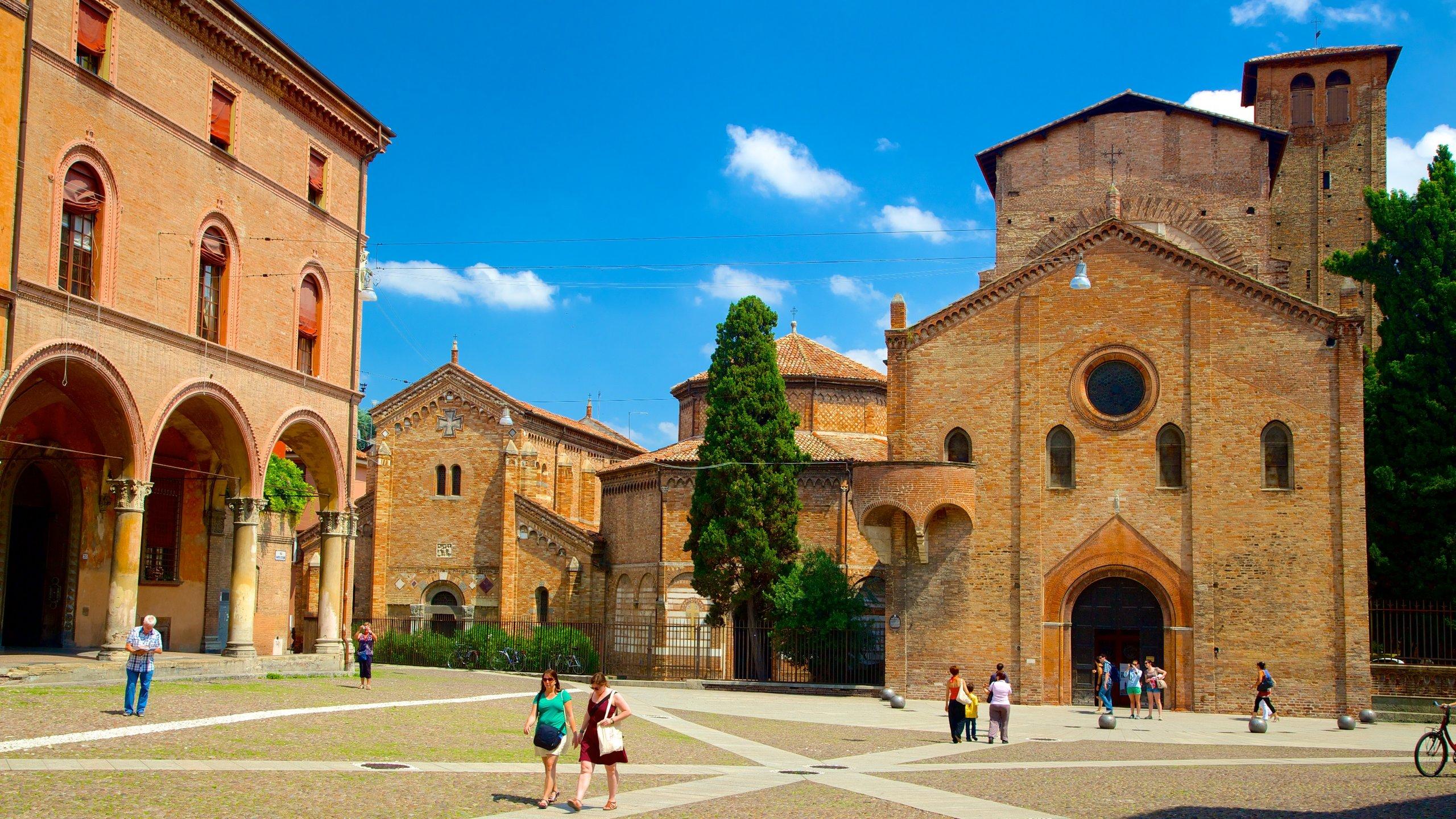 Basilica Santo Stefano, Bologna, Emilia-Romagna, Italy