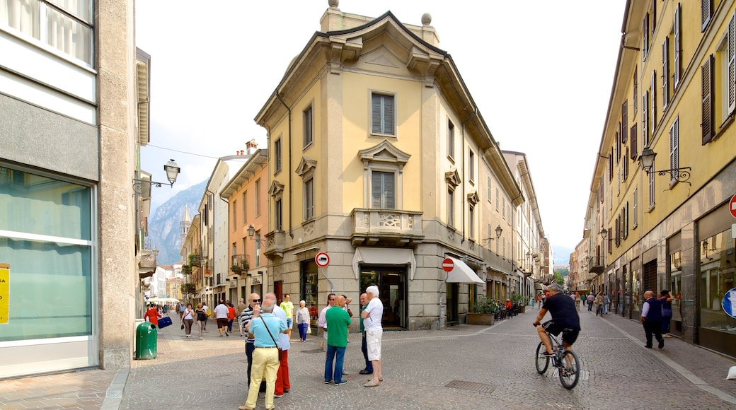 Lecco featuring heritage architecture, cycling and a small town or village