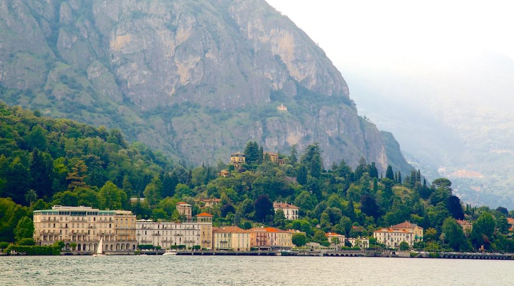 Cadenabbia featuring mountains and a coastal town