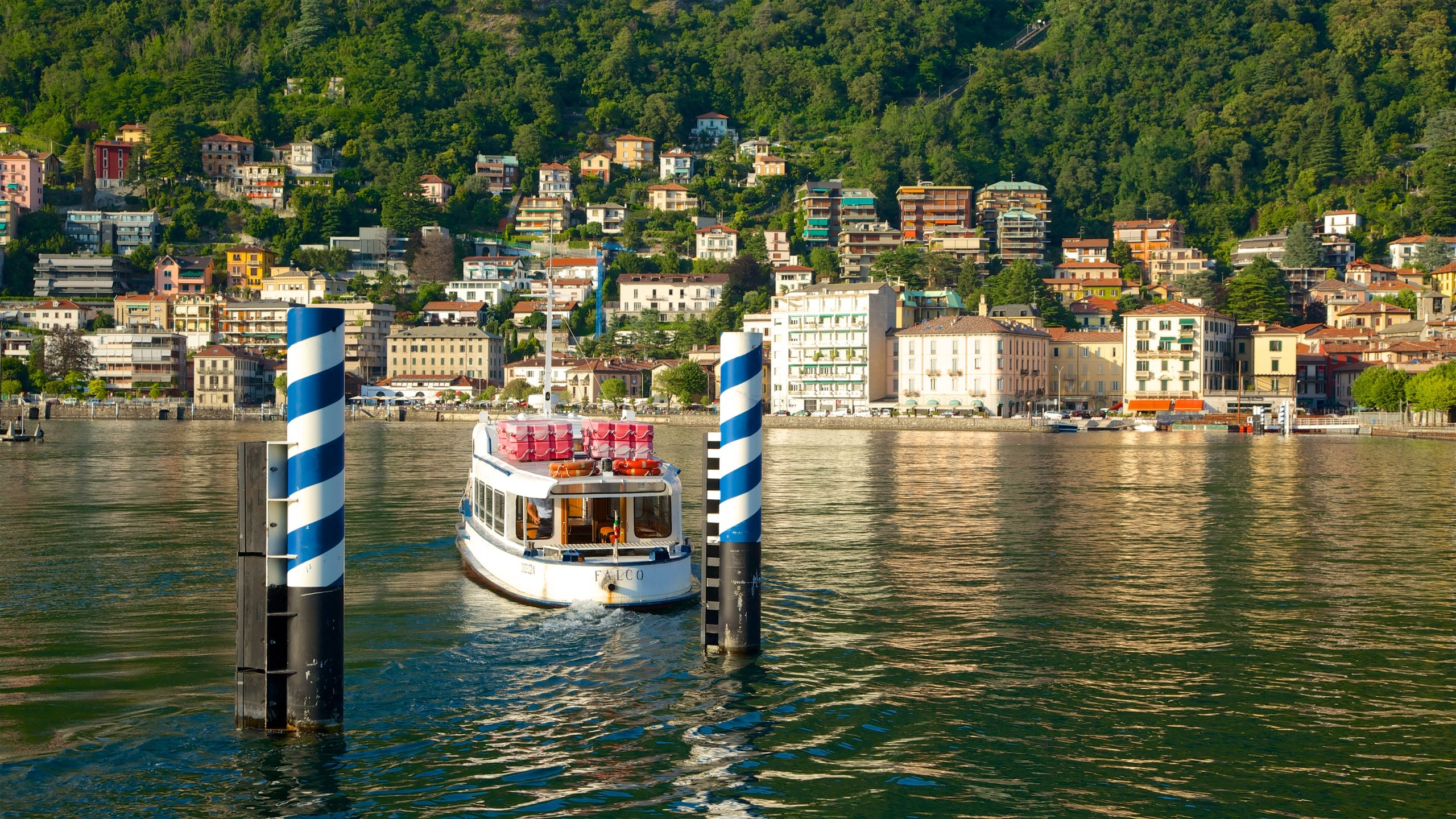 Uninterrupted views of Lake Como, architecturally impressive landmarks and people watching from café terraces make this one of Como's most popular squares.