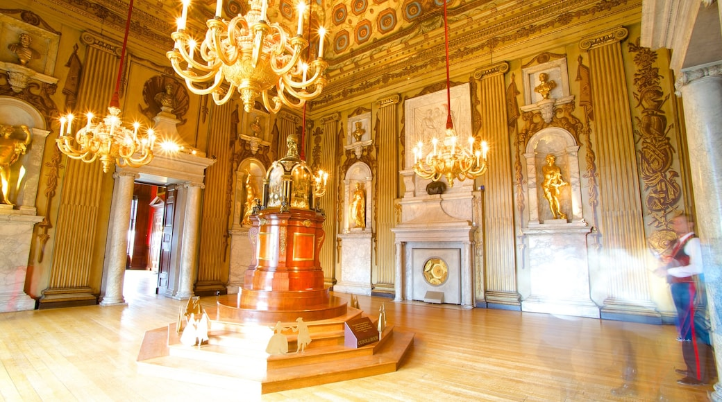 Kensington Palace featuring interior views, heritage elements and heritage architecture