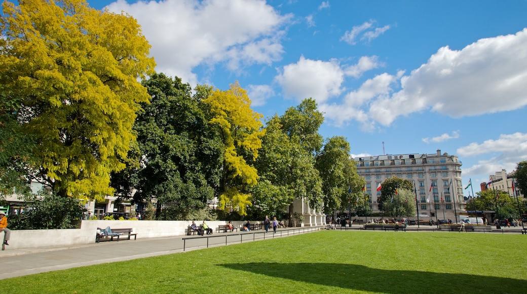 Hyde Park featuring a park