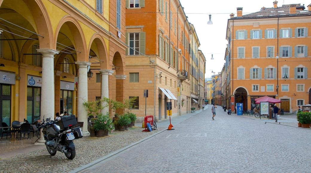 Modena Provinz welches beinhaltet Stadt und Platz oder Plaza