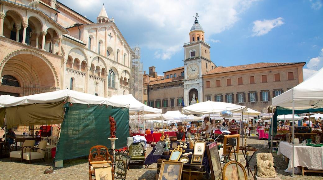 Modena Provinz welches beinhaltet Märkte und Platz oder Plaza