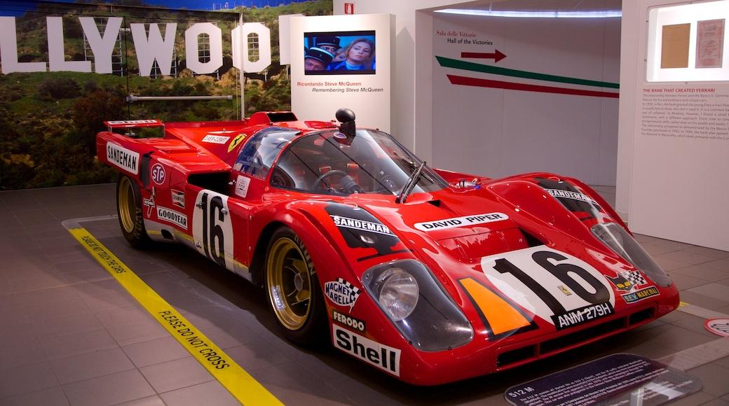 Ferrari Museum which includes interior views