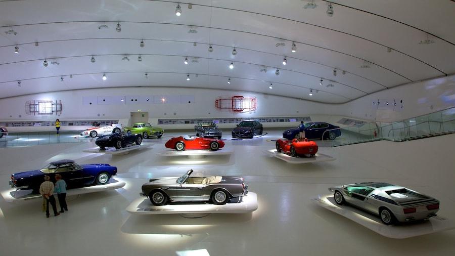 Museo Casa Enzo Ferrari which includes interior views