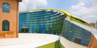 Museo Casa Enzo Ferrari featuring modern architecture