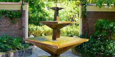 Garden of Dreams showing a fountain