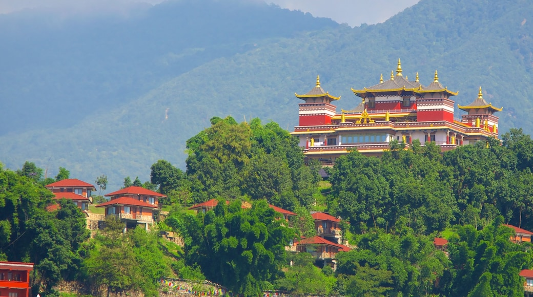 Kopan Monastery which includes a temple or place of worship