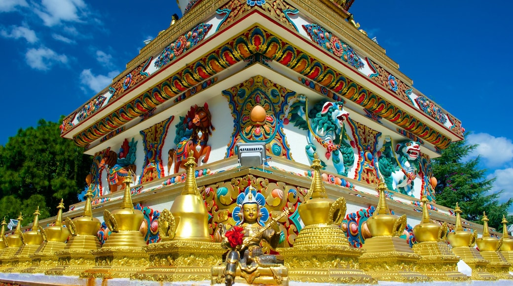 Kopan Monastery which includes heritage elements, religious elements and a temple or place of worship