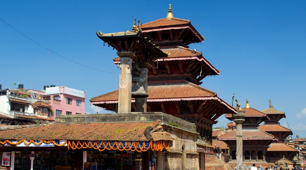 Patan Durbar Square featuring a temple or place of worship