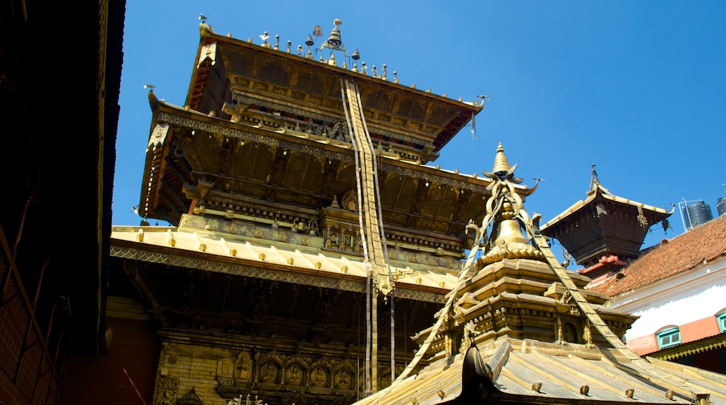 Golden Temple which includes a temple or place of worship and heritage elements
