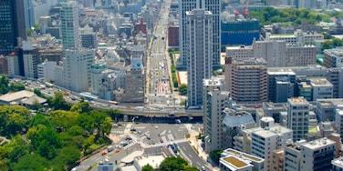 Chiba showing a city