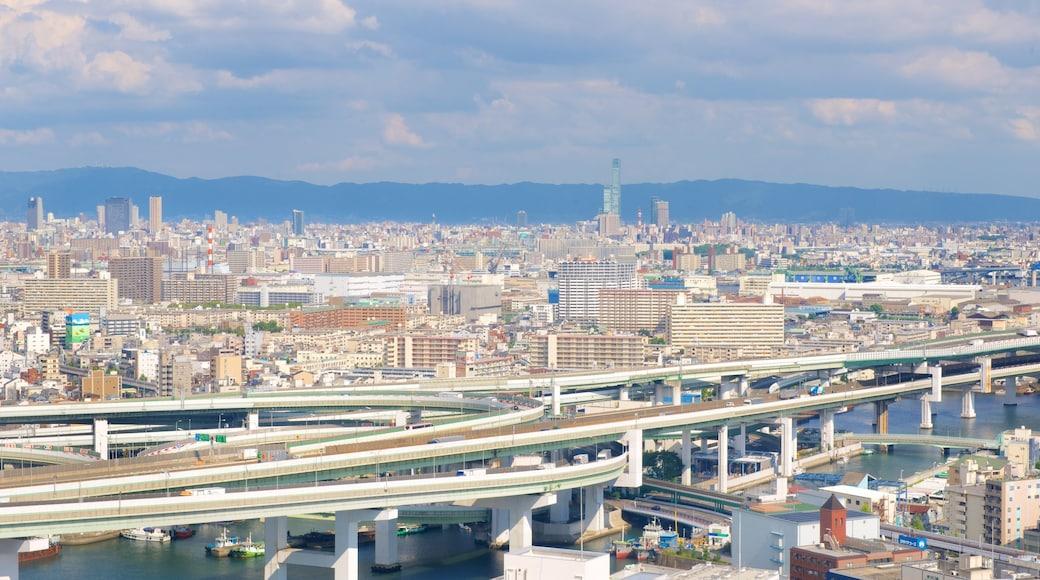 天保山港村摩天輪 设有 天際線 和 城市