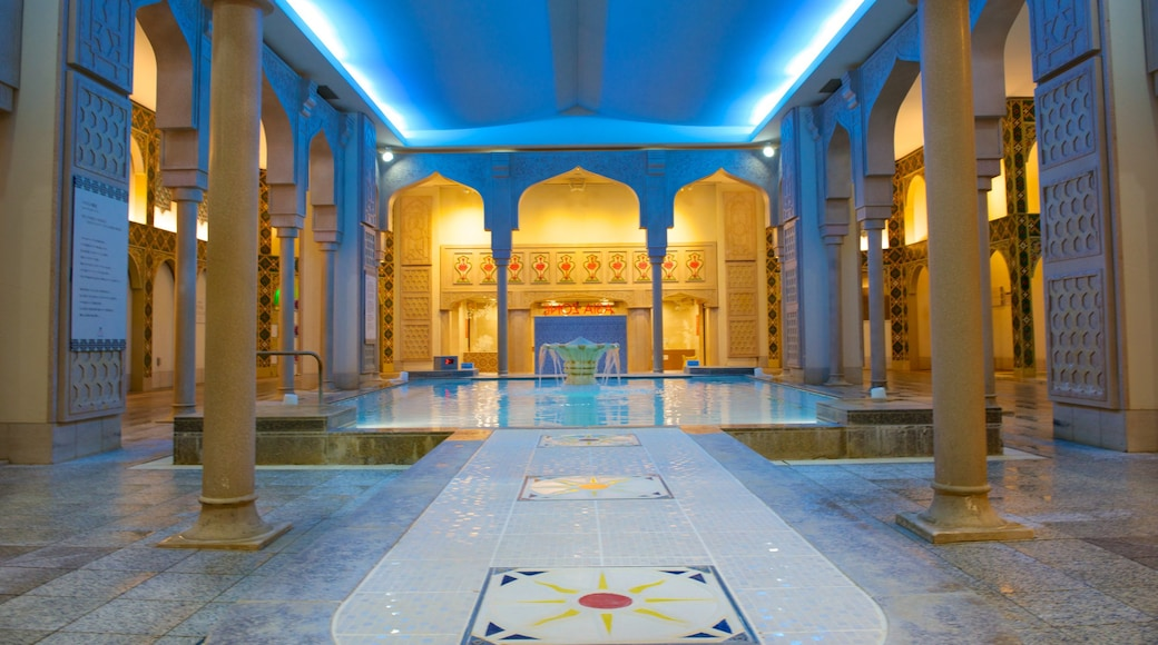 Spa World showing interior views, a day spa and a pool