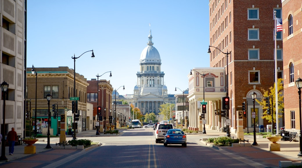 Springfield featuring a city