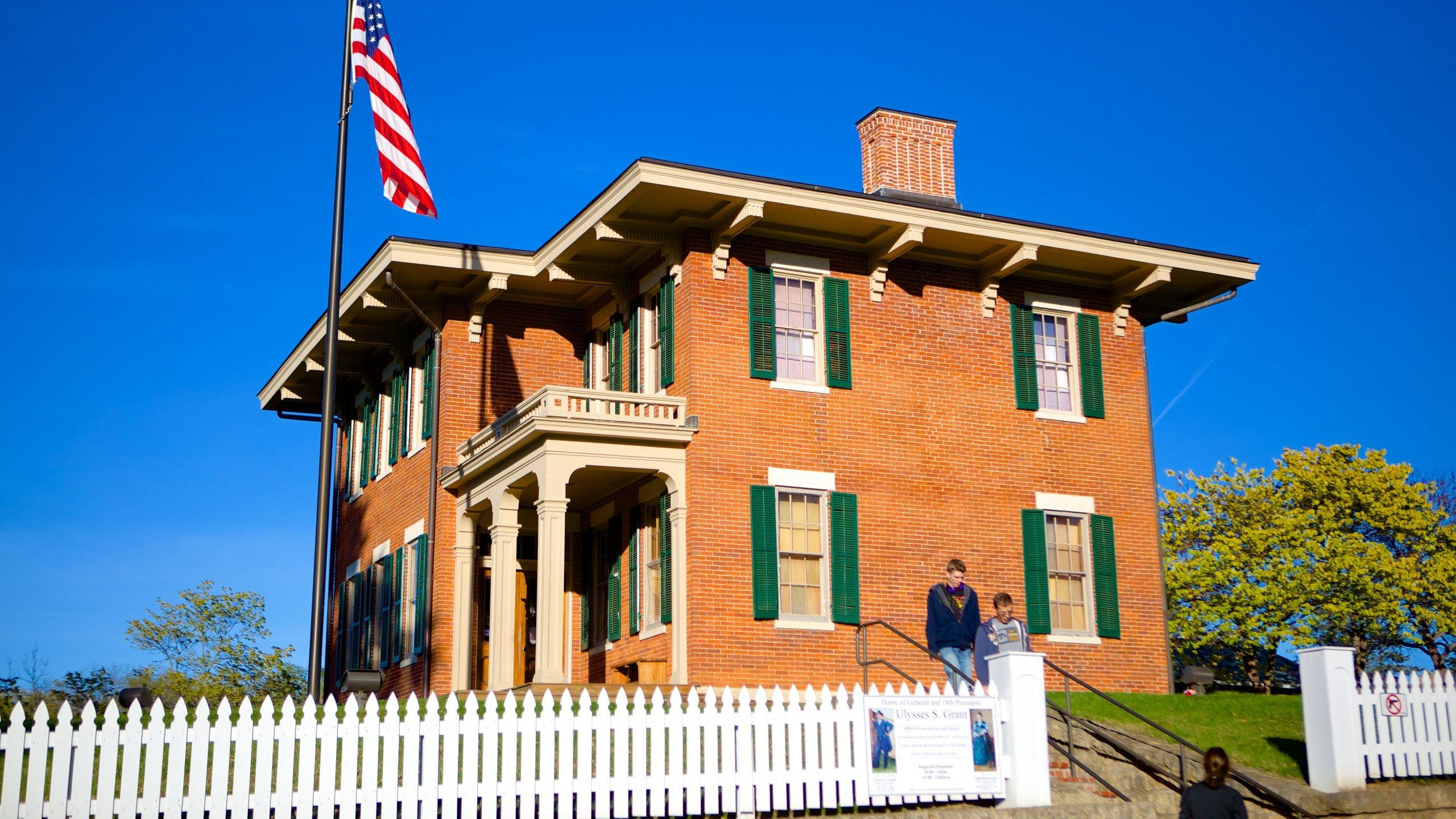 Grant Home, Galena, Illinois, USA