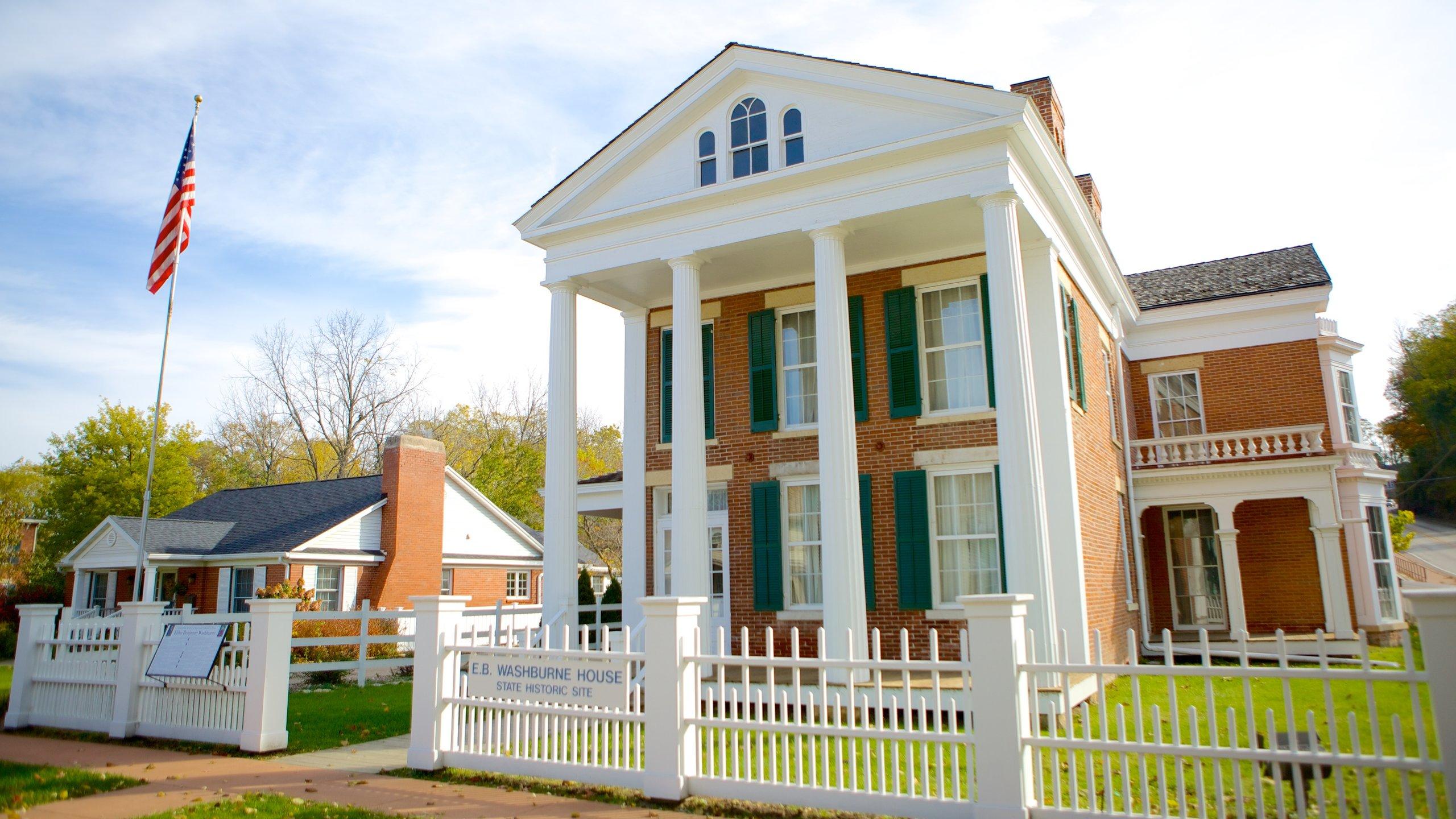 Washburne House Historic Site, Galena, Illinois, USA