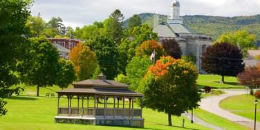 Ticonderoga which includes a park