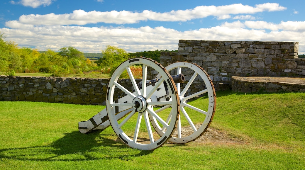 Fort Ticonderoga which includes heritage elements