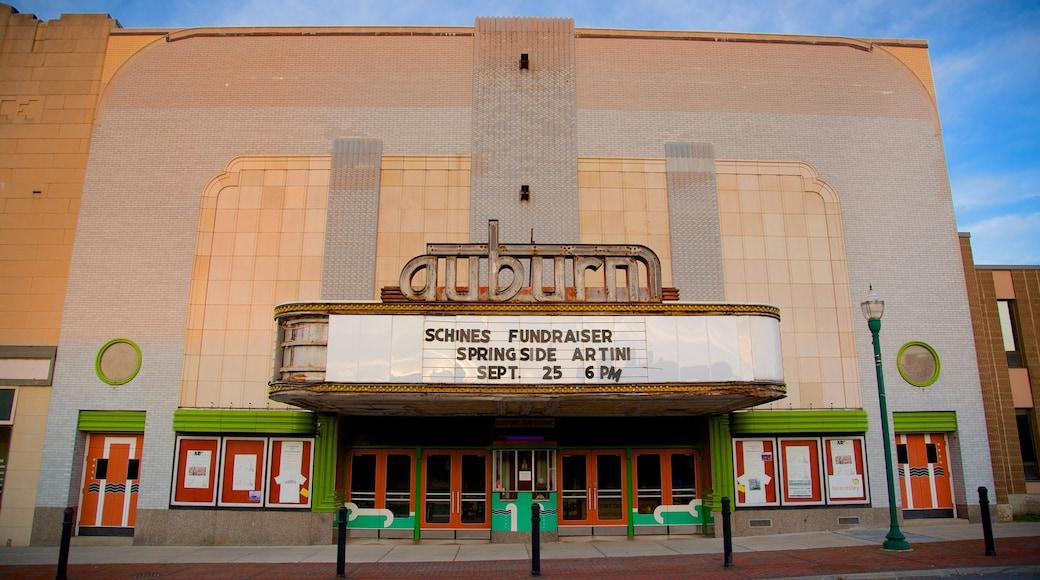 Auburn showing a city