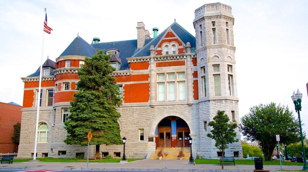 Auburn showing heritage elements