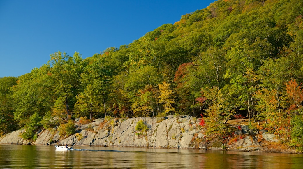 Bear Mountain State Park featuring a river or creek and tranquil scenes