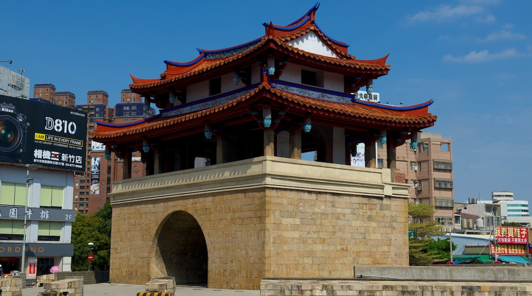 East Gate which includes heritage elements and a city