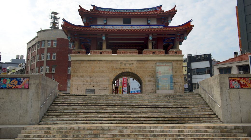 East Gate featuring heritage elements