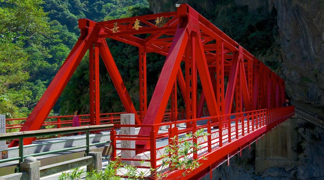 太魯閣國家公園 设有 寧靜風景 和 橋樑