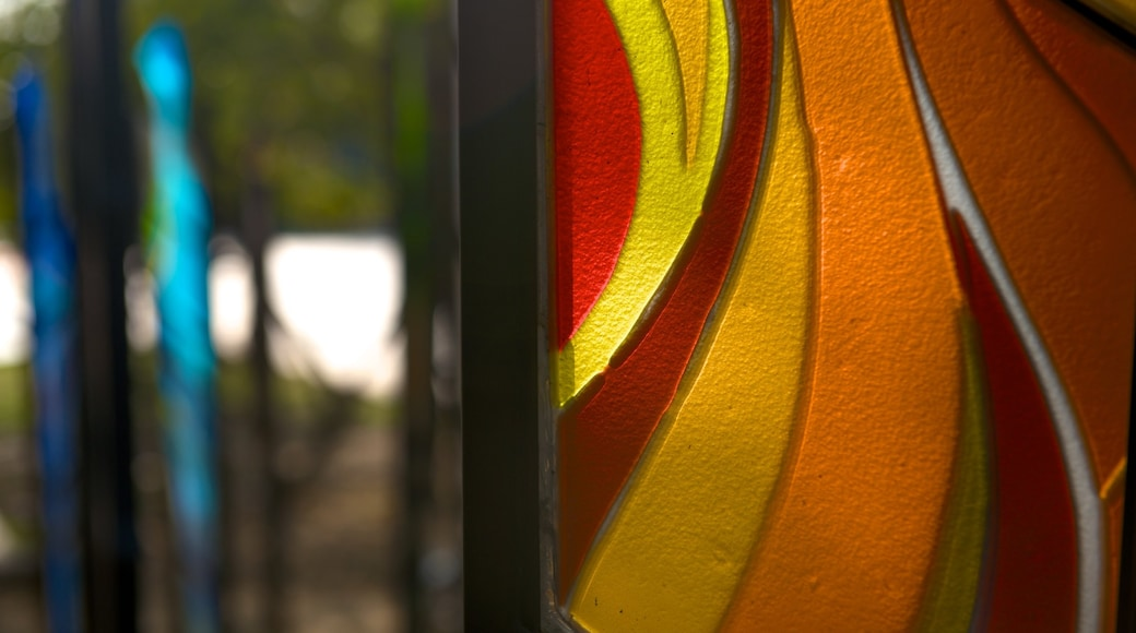 Glass Museum of Hsinchu City featuring outdoor art