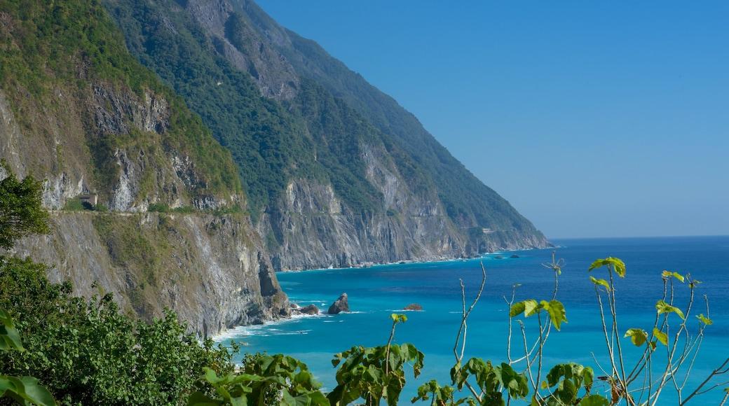 清水斷崖 设有 綜覽海岸風景 和 崎嶇的海岸線