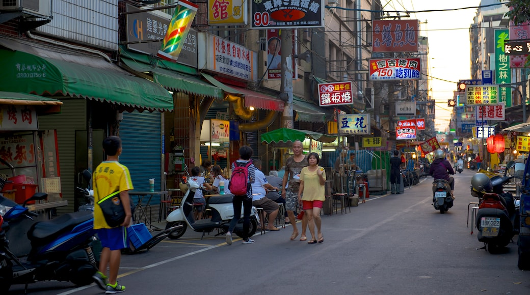 Taoyuan County featuring a city